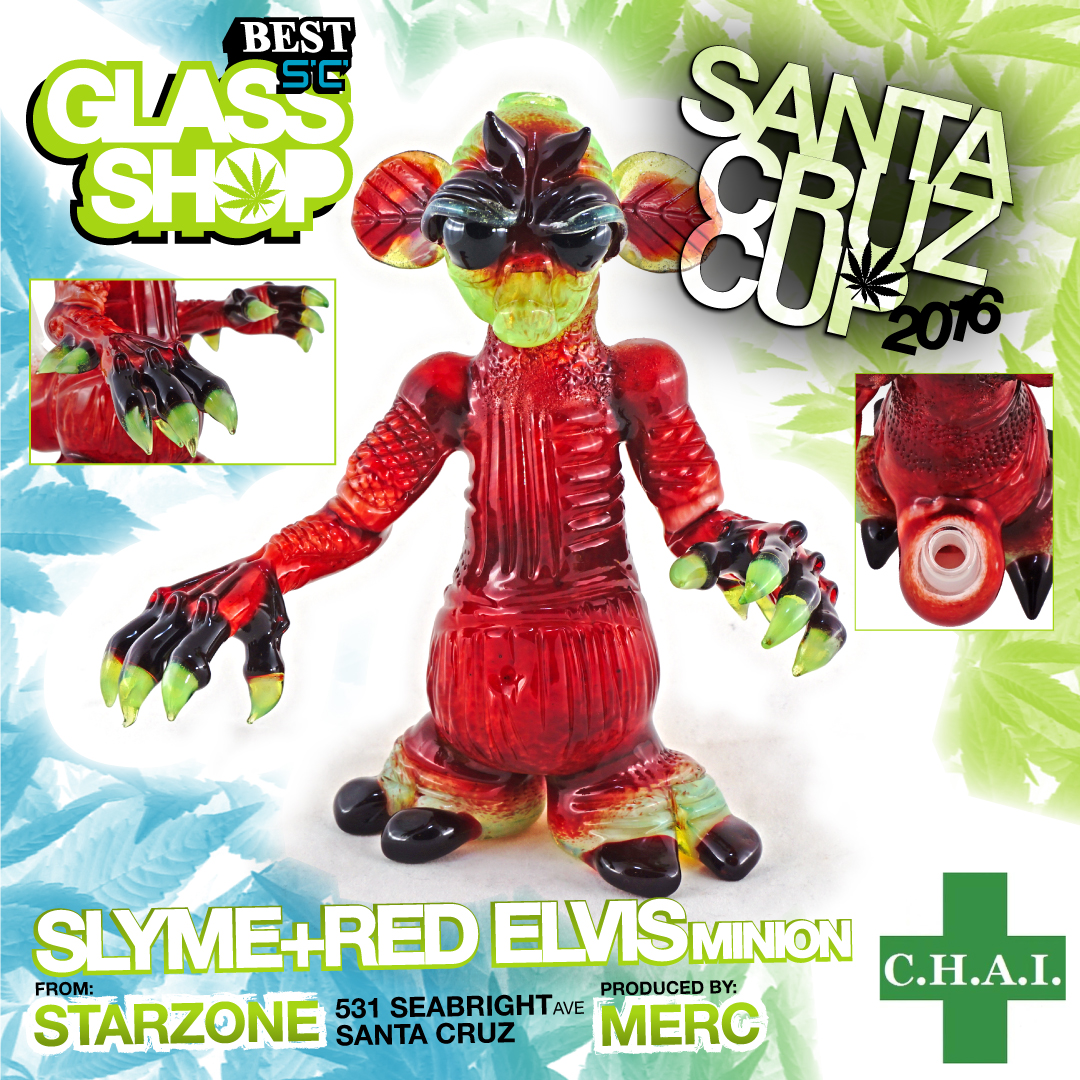 Merc Minion Starzone santa cruz best glass shop