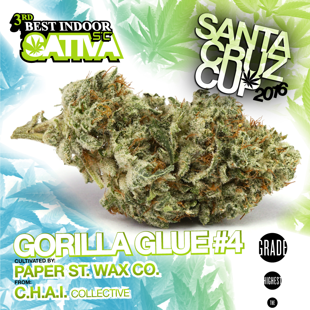 Paper Street Wax Co. Gorilla glue Best sativa Chai Collective