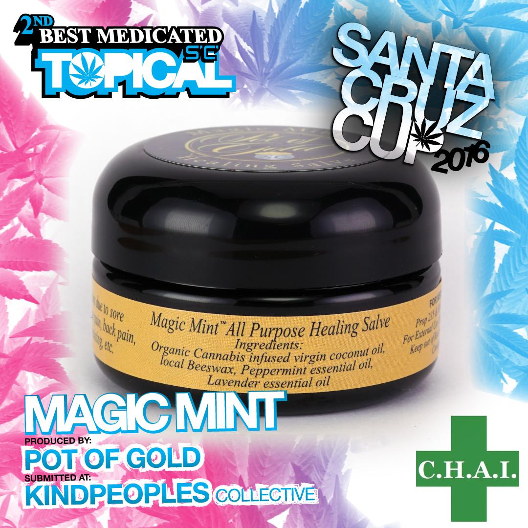 pot of gold Best topical magic mint